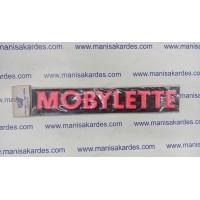 Kabartmalı Stıcker Depo Yazısı Moped, Mobylette ve Moblet Uyumlu Kırmızı Renk 2 li Takım Fiyatı