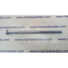 Cıvata M 8x1500 Anahtar Baş ve Kaplamalı Yarım Paso Türk Malı (m81500)
