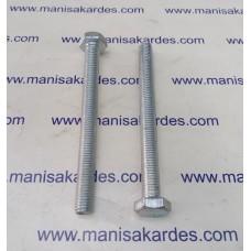Cıvata M 10x1100 Tam Paso Anahtar Başlı ve Kaplamalı Türk Malı Adet Fiyatı (m101100)