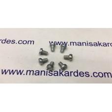 Cıvata M 4x5 Silindir Başlı Kaplamalı Türk Malı Adet Fiyatı (m45)