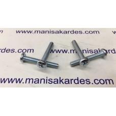 CIVATA - M 5x35 YSB YILDIZ Silindir Baş ve Kaplamalı Türk Malı. (M535)