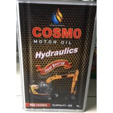 Hidrolik Yağ 46 - Teneke 14 Kg. 16 Litre Cosmo Marka, İş Makineleri İçin...