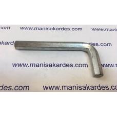 ALLEN ANAHTAR L - 11 mm Kısa Tip II Kalite (Al11)