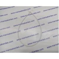 Cırt Kelepçe Kaplo Bağı 4.8x450 Beyaz Renk Paket 100 Adet
