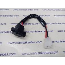 Şarj Bağlantı Giriş Soketi Kapaklı Kablolu ve Fişli İthal Monero Marka E-Bike Uyumlu (akü fişi)