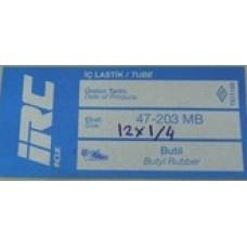 BİSİKLET İÇ LASTİK. 12  1/2x2  1/4 47-203 MB İrc Marka Türk Malı Düz Sibop (bi12ir)