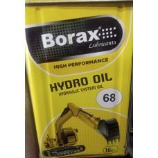 68 No Hidrolik Yağı 14 Kg 16 Litre Borax Marka Türk Malı