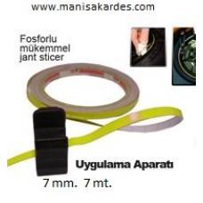 FOSFOR JANT UYUMLU EN 7 mm Boy 7 mt Aparatlı Sarı Renk