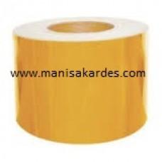 Fosfor 10 cm TOP 25 mt Sarı Renk İthal Metre Fiyatı