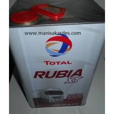 Yağ 20w-50 Teneke 16 Kg 18 Litre Total Rubıa Marka Türk Malı Dıesel (y2050tnto)