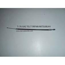 GAZ TELİ TIRPAN SIRT MOTORU TM. MITSUBISHI, EKLEME 9.5/15.5 cm...