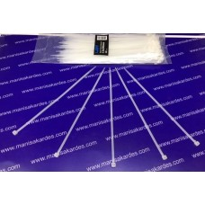 Cırt Kelepçe Kablo Bağı 3.5x200 Paket 100 Adet