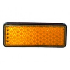 Reflektör Arka Çamurluk uyumlu Dikdörgen Sarı Renk (9 cm 3.5 cm) M 5 Cıvata ve Somunlu Türk Malı