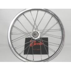 ARKA JANT 20x1.95 KOMPLE Çelik 2 mm İnce 28 Telli Otomatik Makina Akortlu Bmx Bisiklet Uyumlu (j20195açe)