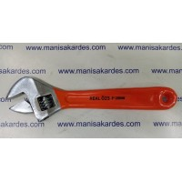 "Kurbağacık Anahtarı No: 8 Real Özs Marka Türk Malı İngiliz Anahtarı 8""-200mm"